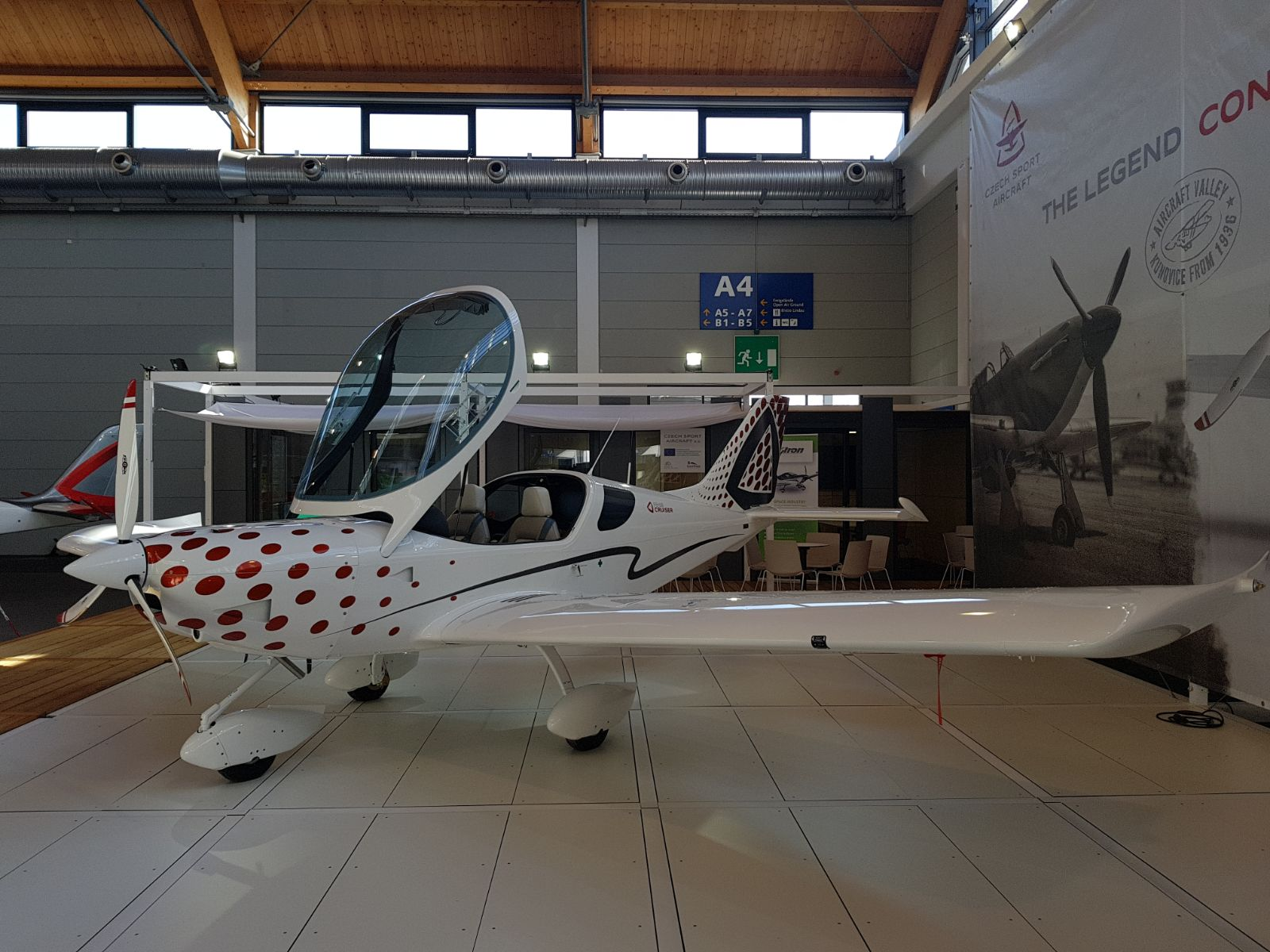 The Aero in Friedrichshafen started on Wendesday, 18th April