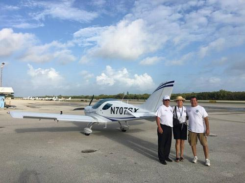 First VFR flight to Havana in over 60 years!